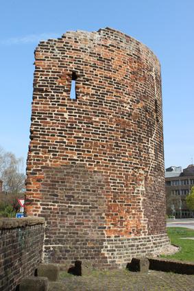 Innenhafen Stadtmauer