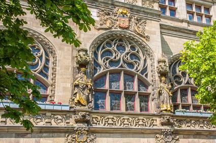 Rathaus Duisburg Wappen